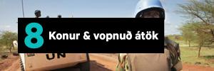 Konur & vopnuð átök
